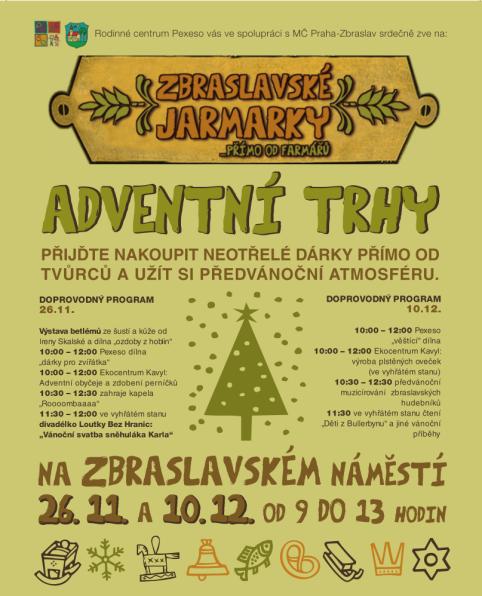 plakat pro Adventni trhy