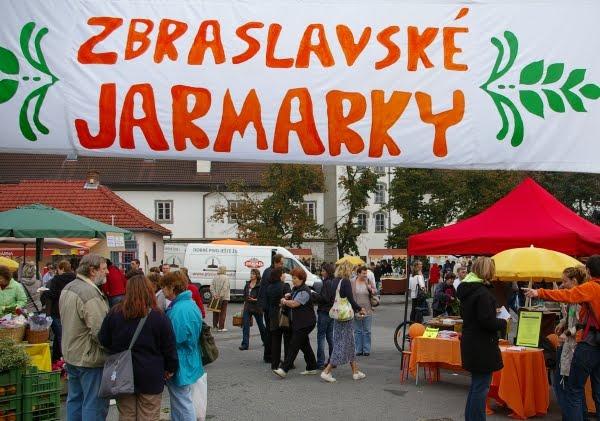 Zbraslavské jarmarky 11.9. 2010 - první!
